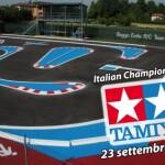 RC12 -1 la pista di Sesso che ha ospitato l'italiano Tamiya