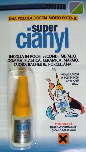 COLLA CIANOACRILICA CIANYL 5gr