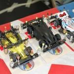 mini4wd -podio auto da sin. 2, 1, 3