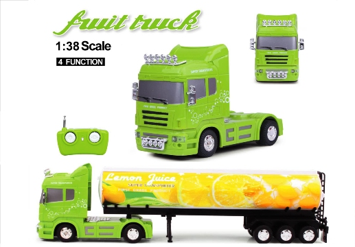 FRUIT TRUCK RC 1:38 CISTERNA Limone 40Mhz