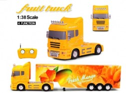 FRUIT TRUCK RC 1:38 CONTAINER 27Mhz Mango