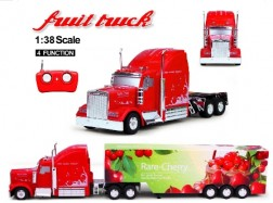 FRUIT TRUCK RC 1:38 CONTAINER Ciliegia 27Mhz