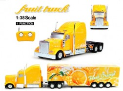 FRUIT TRUCK RC 1:38 CONTAINER Arancia 27Mhz