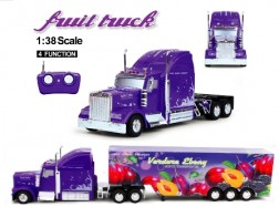 FRUIT TRUCK RC 1:38 CONTAINER Prugna 40Mhz