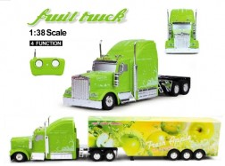 FRUIT TRUCK RC 1:38 CONTAINER Mela 40Mhz