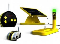 RC MICROAUTO EcoRacer SOLAR + Radio