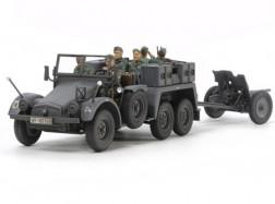 GE 6×4 TRUCK Kfz.69 + 3,7cm PAK