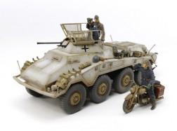 GE ARMORED CAR Sd.Kfz. 234/1 + 3 SOLDATI