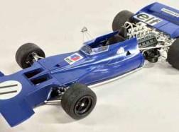 TYRRELL 003 1971 Monaco GP + Fotoincisioni
