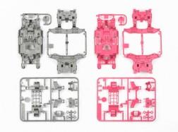 TELAI MS PER mini4WD-PRO Argento/Rosa