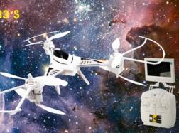 DRONE CX-33 CON RADIO VIDEOCAMERA FPV 5.8G