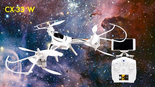 DRONE CX-33 CON RADIO VIDEOCAMERA WiFi