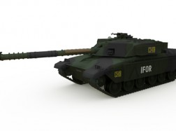 GB MBT CHALLANGER 1 Forest