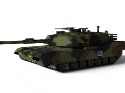 US MBT M1A1 ABRAMS Nato Camuflage