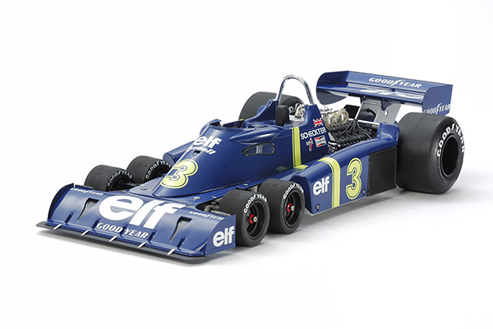 TYRRELL P34 6 RUOTE + FOTOINCISIONI