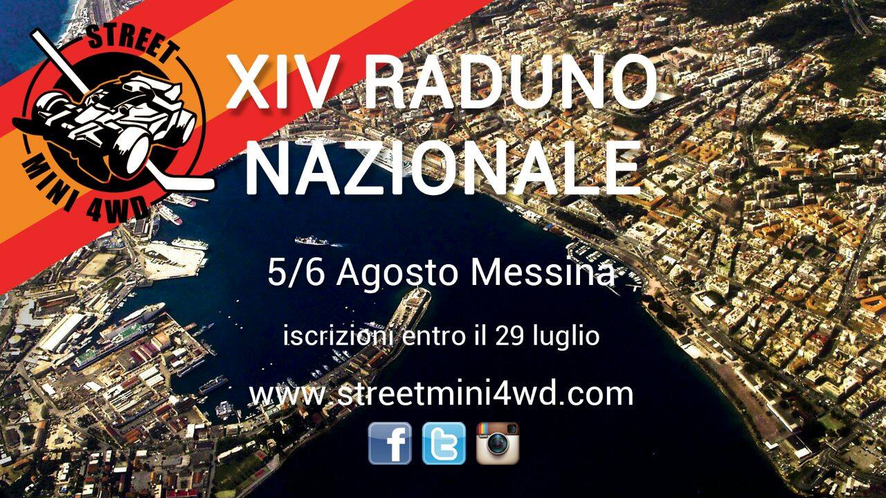 XIV Raduno Nazionale Street mini4WD