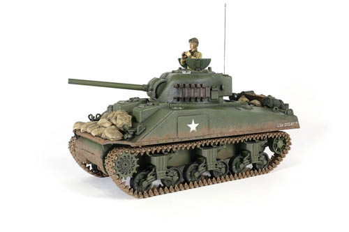 US SHERMAN M4A3 RC Scala 1:24