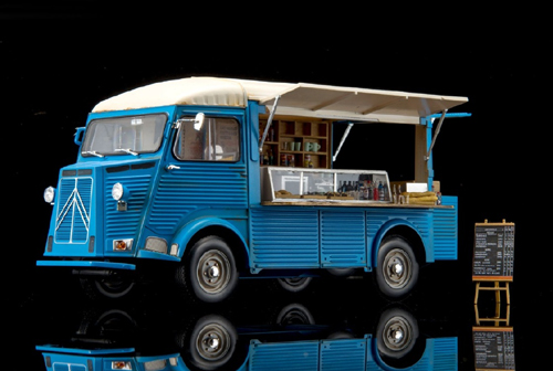 CITROEN H Van Mobile Kitchen