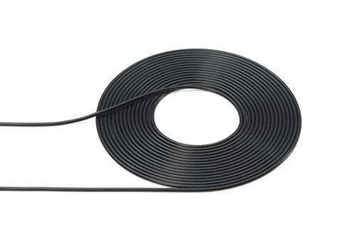 CAVO VINILE NERO 0,5mm 2mt