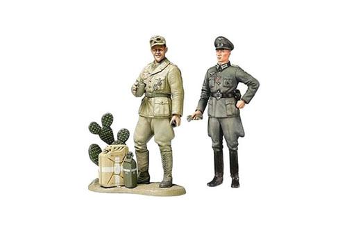 GE UFFICIALE + CARRISTA WWII
