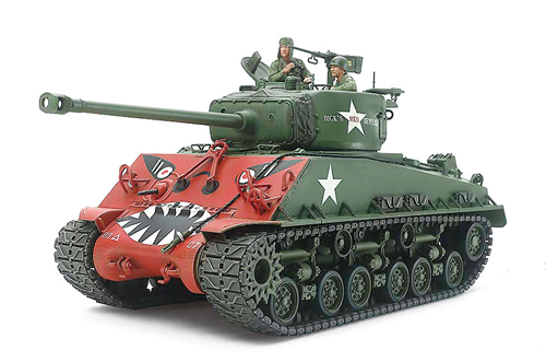 US SHERMAN M4A3E8 Korean War