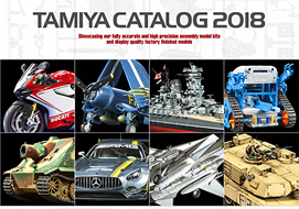 Catalogo TAMIYA KIT 2018!!