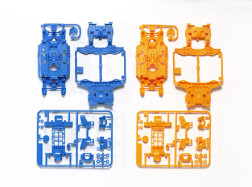 TELAI MS PER mini4WD-PRO Azzurro/Arancio