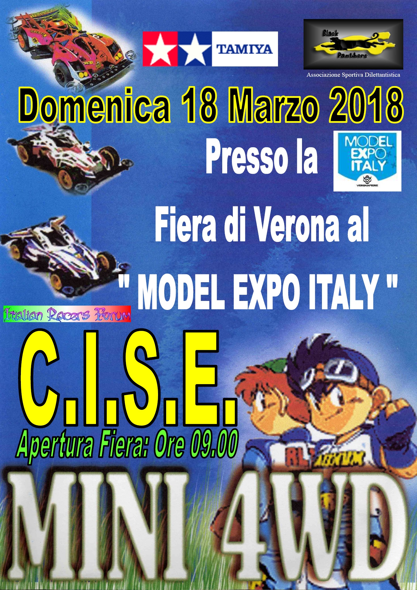Gara Tamiya mini4wd C.I.S.E. (Campionato Italiano Squadre Expert)