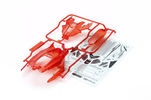 CARROZZERIA DCR-01 Clear Red