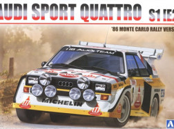 AUDI SPORT 4 S1 Rally Mont.'86 KIT 1:24