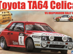 TOYOTA CELICA TA64 Gr. B CON 2 SET DECAL 1:24