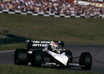 BRABHAM BT52-B F1 Monza 1983