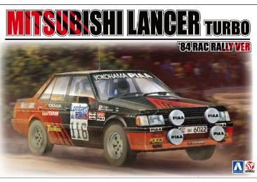 MITSUBISHI LANCER RAC Rally 1984
