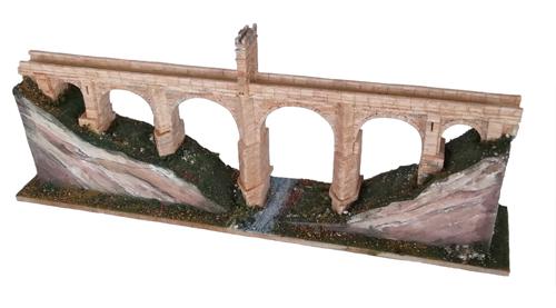 PONTE DI ALCANTARA Scala 1:350 62x8x25