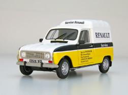 RENAULT 4 FURGONETTE Service