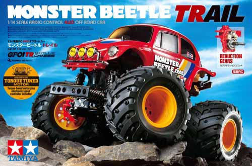 MONSTER BEETLE TRAIL 4WD Telaio GF-01TR