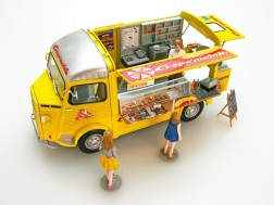 CITROEN H Crepe Mobile + Figure