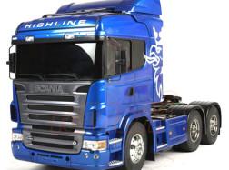 SCANIA R620 3 assi Body Verniciato Blu