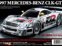 MERCEDES CLK-GTR 1997 TT-01E 4WD