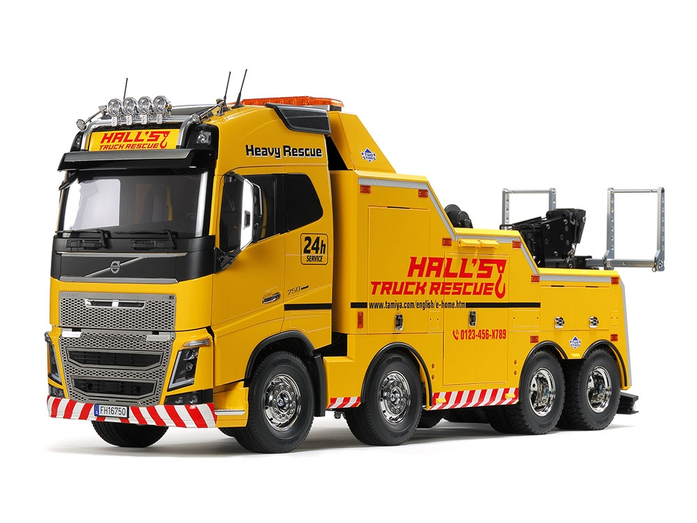 VOLVO FH16 GLOBETROTTER 750 8×4 TOW TRUCK