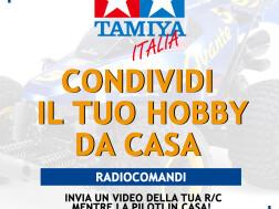 Radiocomandi: concorso Tamiya 'CONDIVIDI IL TUO HOBBY DA CASA'